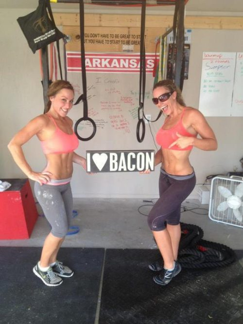 Work Out Ladies Love Bacon
