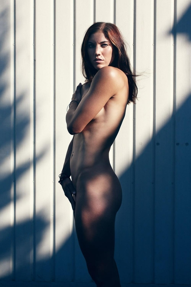 Hope Solo from ESPN Nude Issue
