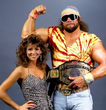"""The Macho Man"" with Miss Elizabeth"