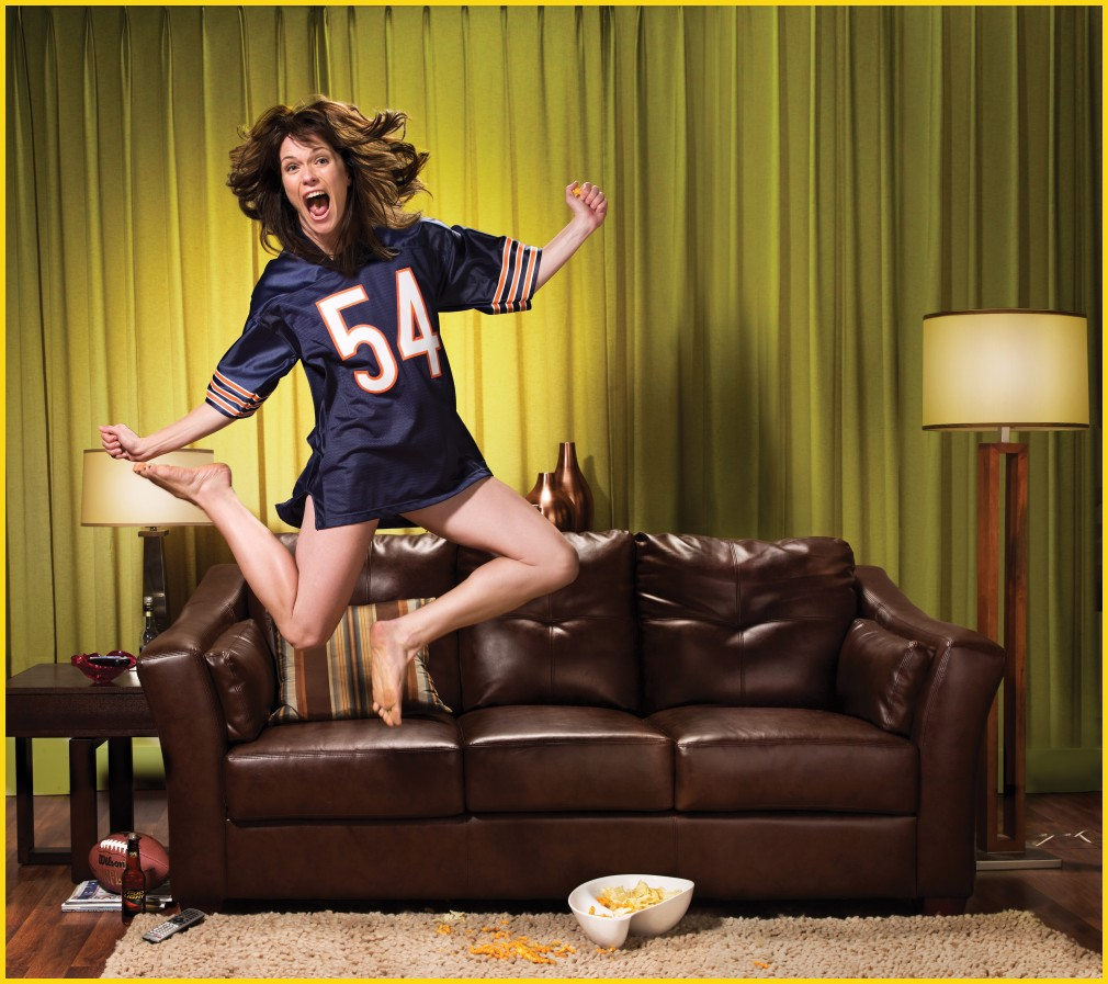 THE LEAGUE: Katie Aselton.