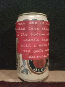 Miller Lite Traveled Can 1993
