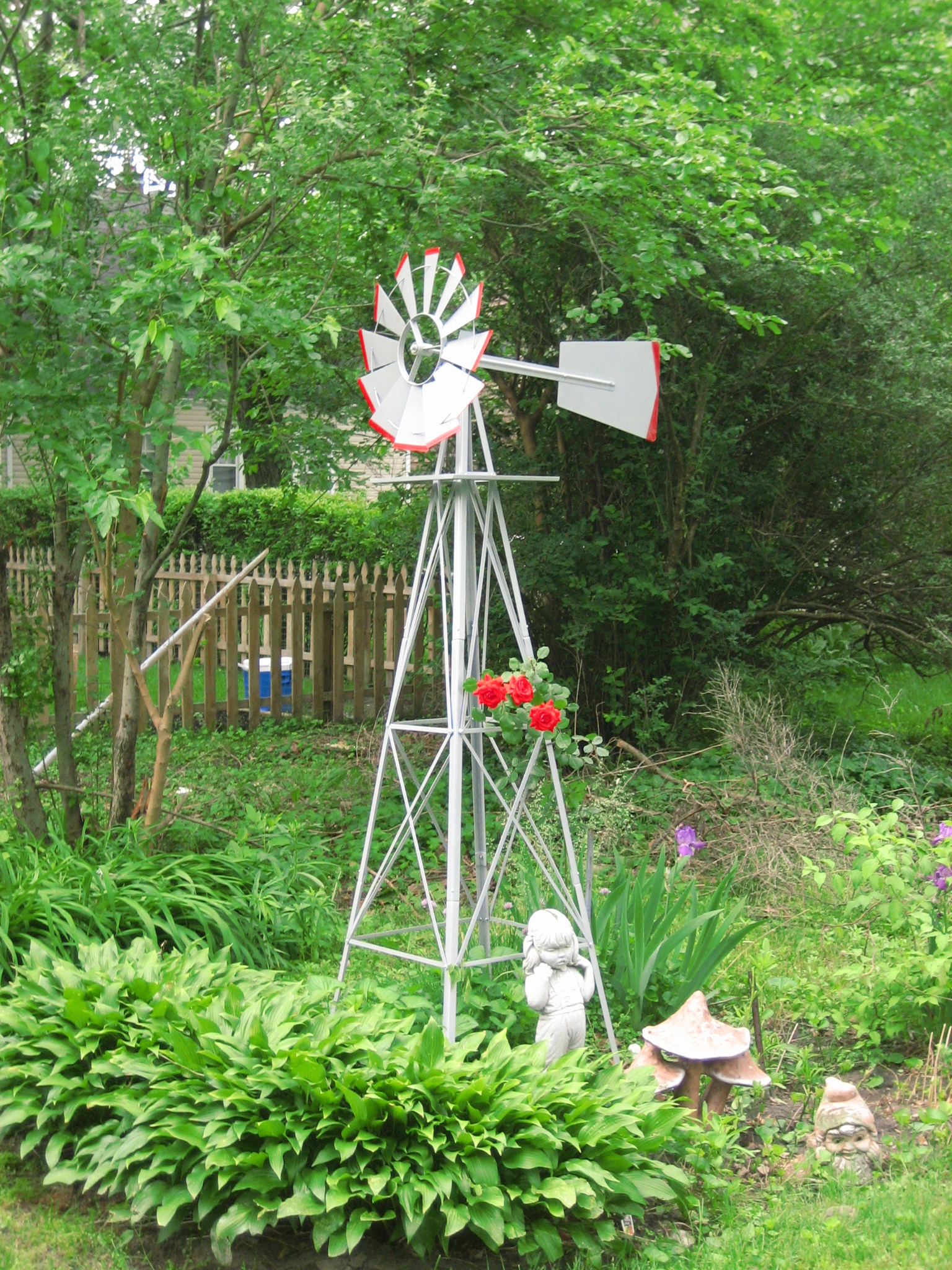 Thursday, June 01, 2006 a picture of roses and windmill